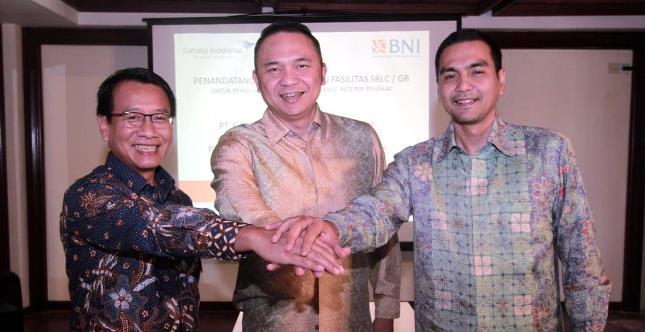 Perkuat Kerja Sama, BNI Sediakan SBLC untuk Garuda Indonesia (Rizki Meirino)