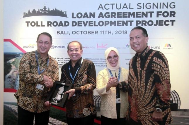 Bank Mandiri Kucurkan Rp2,041 Triliun untuk Ruas Tol Terbanggi Besar -Kayu Agung