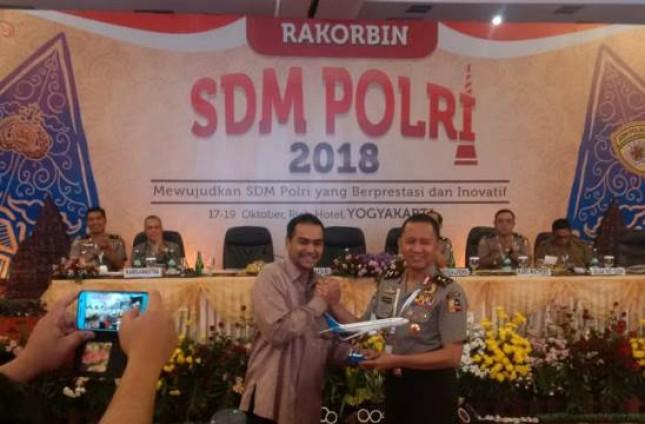 Garuda-Polri Sepakat Kemitraan Strategis Layanan Jasa Penerbangan (Foto Dok Garuda Indonesia)