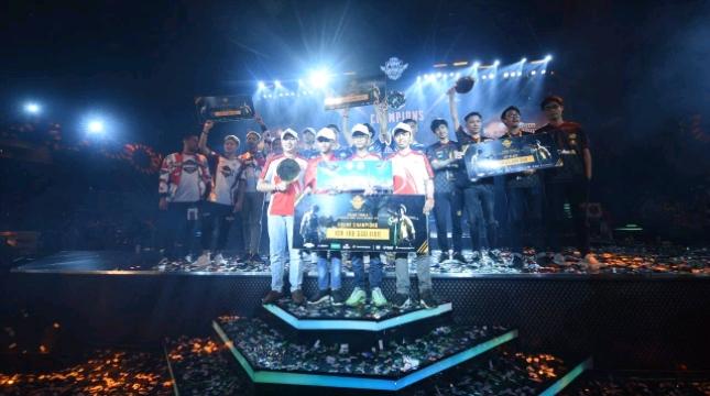 Tim BIGETRON dinobatkan sebagai The Strongest Squad Indonesia