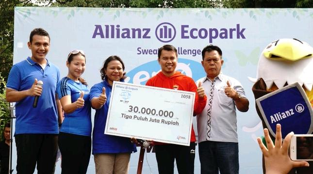 Allianz Tunjukkan Kepedulian Pada Atlet Asian Para Games