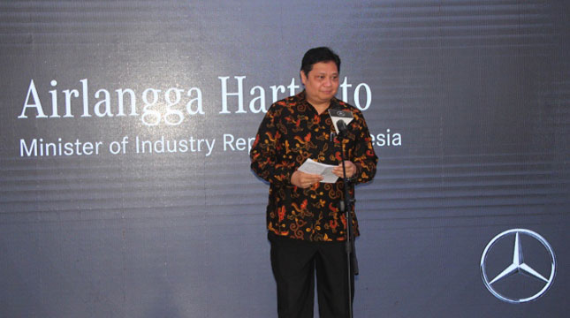 Menteri Perindustrian, Airlangga Hartarto (Ridwan/INDUSTRY.co.id)