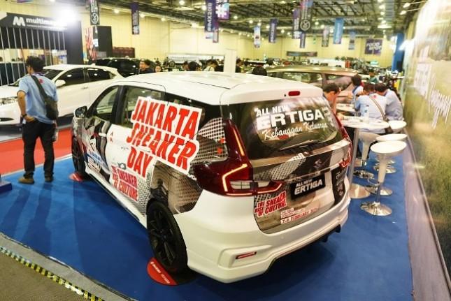 Di ajang Indonesia Modification Expo 2018, Suzuki pamerkan Suzuki All New Ertiga berjiwa muda dan dinamis