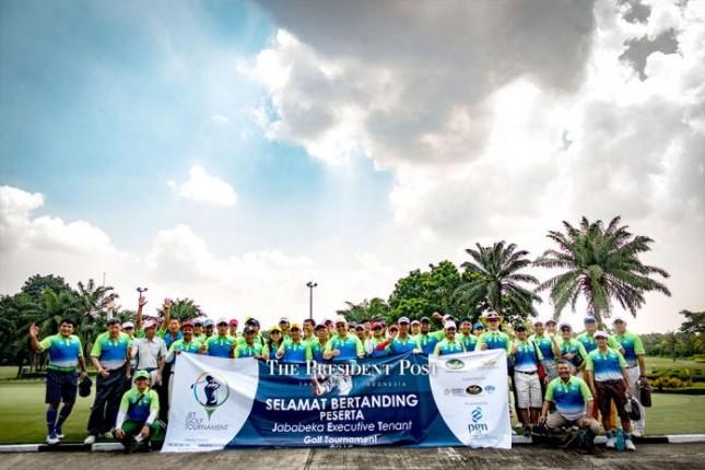 JET Golf Tournament PT Jababeka Infrastruktur (Foto: Presidentpost)