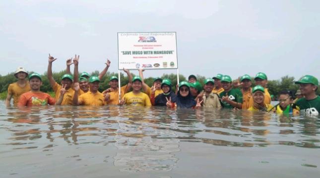 Jababeka Dukung PT TRAD Indonesia Tanam Mangrove di Muara Gembong