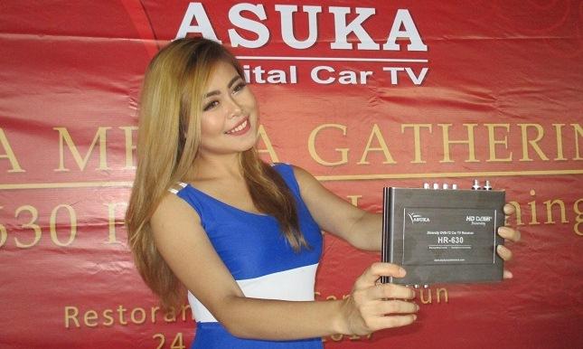 Asuka Car TV Tuner HR 630 menyajikan kualitas gambar dan suara TV tetap lebih stabil dan jernih. Bahkan saat mobil melaju hingga 160 km/jam