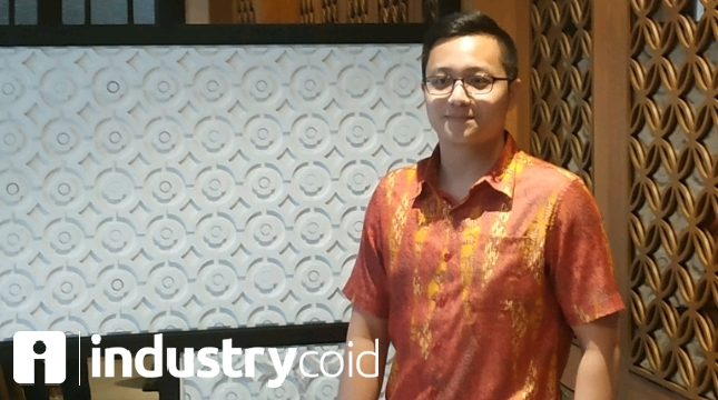 Milken Jonathan, Founder dan CEO Bitocto Indonesia (Hariyanto/INDUSTRY.co.id)