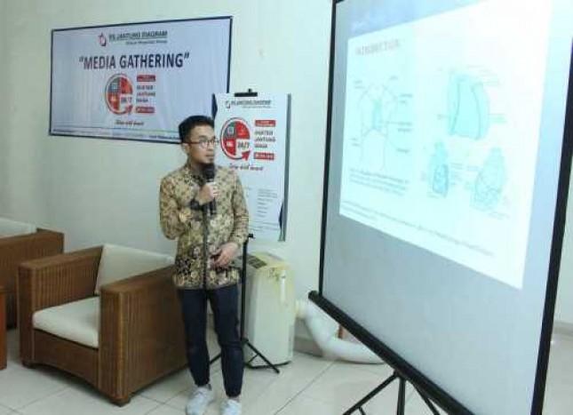 Dr M Barri Fahmi, SpJP Dokter Spesialis Jantung RS Jantung Diagram Cinere (Foto Beritasatu.com)