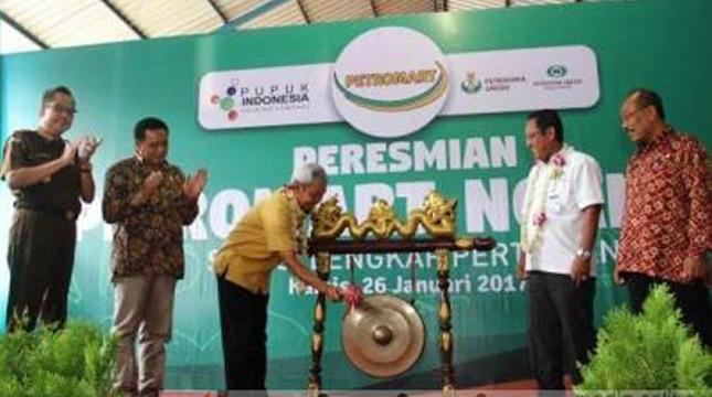 Peresmian Gerai Pertanian PG (beritajatim)
