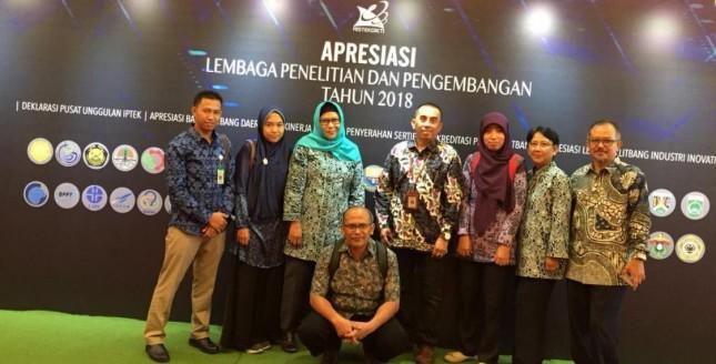 Apresiasi Lembaga Penelitian dan Pengembangan 2018