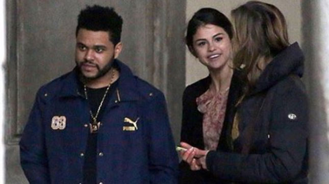 Selena Gomez dan Abel (The Weeknd) di Italia (Ist)