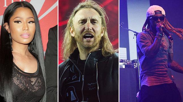 Nicki Minaj, David Guetta dan Lil Wayne