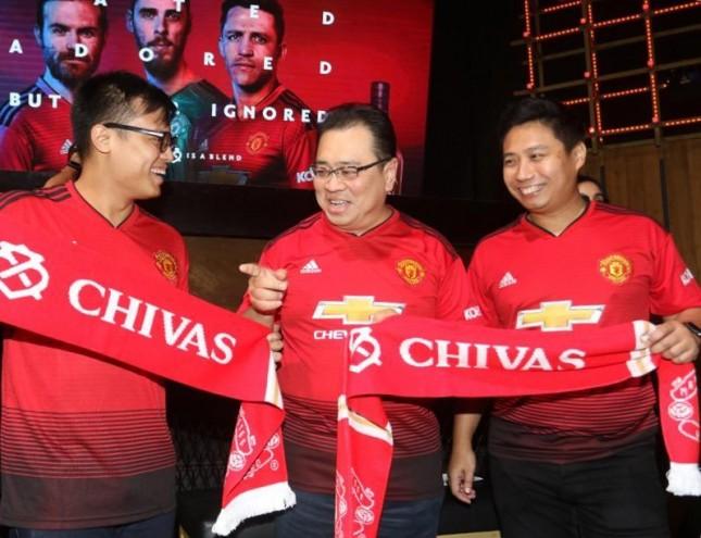 Chivas Resmi Sponsori Manchester United(FotoDok Industry.co.id)