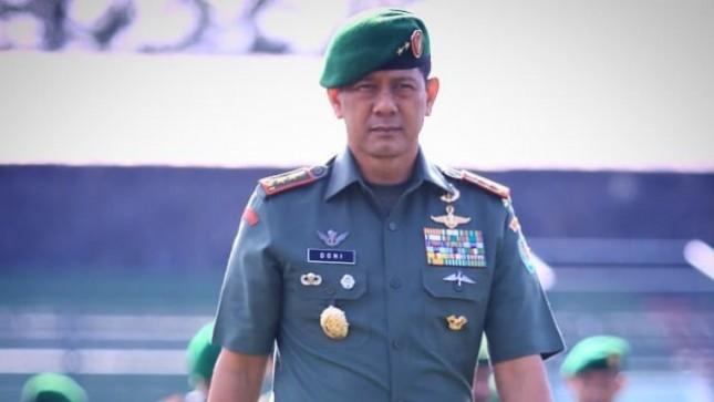 Letjen Doni Monardo Kepala BNPB Baru