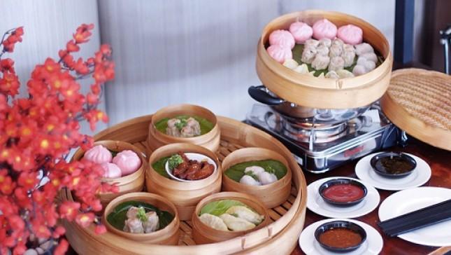Dimsum All You Can Eat yang menjadi bagian dari Triple Victory pada ulang tahun ke-3 Teraskita Hotel by Dafam