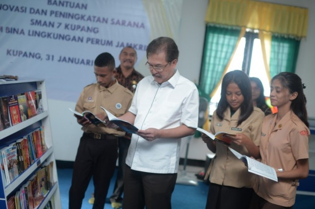 Direktur Utama Perum Jamkrindo Randi Anto