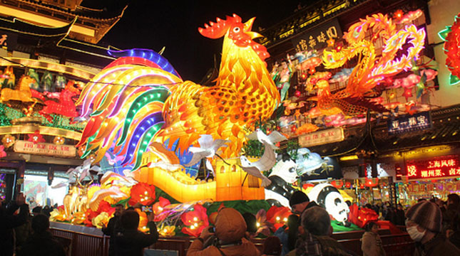 Festival Lampion Perayaan Cap Go Meh, Tahun Baru Imlek (VCG/Contributor/Getty Image)