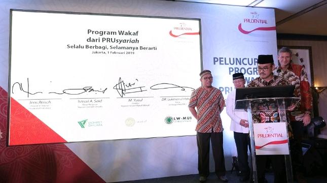 Prudential Indonesia Hadirkan Program Wakaf dari PRUsyariah
