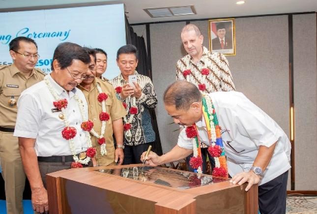 Menpar AY resmikan Swiss-Belhotel Belitung (Foto Dok Industry.co.id)