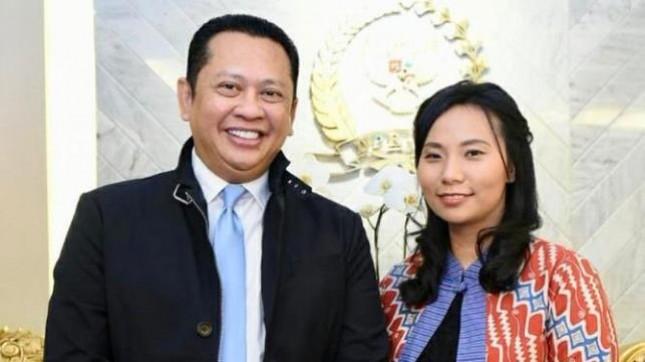 Ketua DPR Bambang Soesatyo bersama Sutradara Livi Zheng yang mengunjunginya kemarin