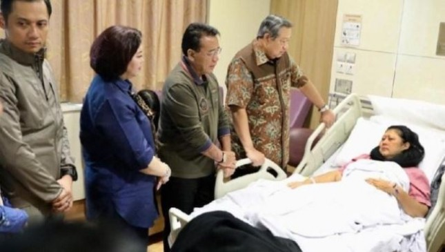 National University Nursing >> Ani Yudhoyono Jalani Pengobatan Intensif Di National