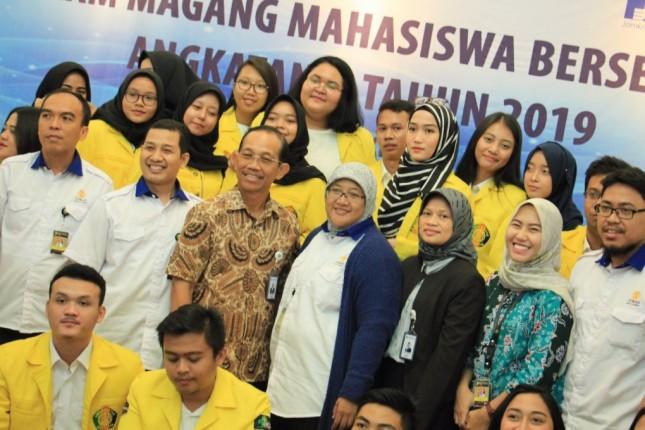 Jamkrindo dan Mahasiswa magang