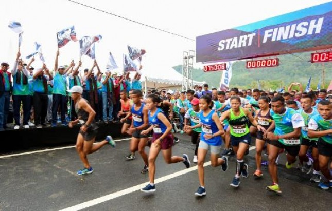 Run BRI Mendeh Sumbar 2019 (Foto Dok Industry.co.id)