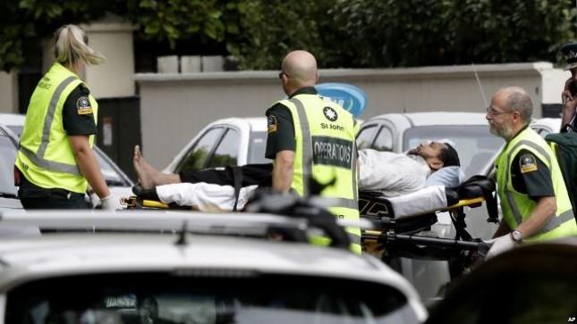 Korban penembakan di Selandia Baru (Foto Dok Voanews)