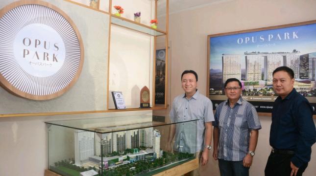 Peresmian Marketing Galeri apartemen Opus Park di Kelapa Gading
