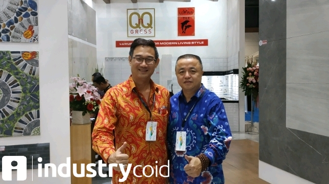 Direktur Utama PT Citra Makmur Jaya Lestari, Gunawan Wijaya (Hariyanto/INDUSTRY.co.id)