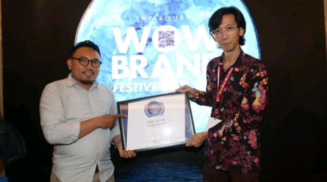 First Media Terima Penghargaan WOW Brand 2019