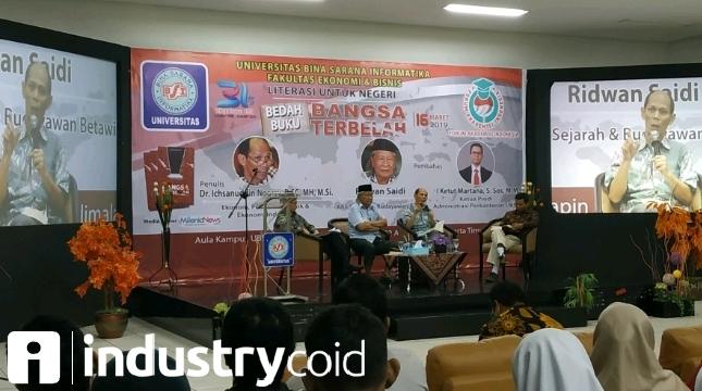 UBSI Bersama FAI Gelar Seminar Bertema Literasi Untuk Negeri