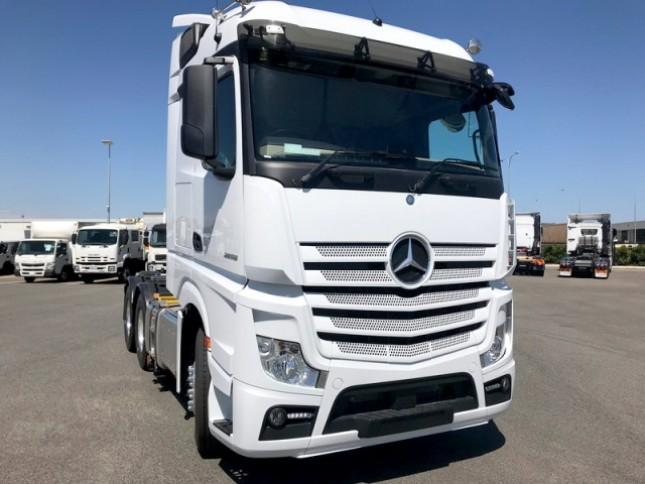 Mercedes Benz Trucks >> Dua Varian Truk Mercedes Benz Ini Miliki Sistem Mudah