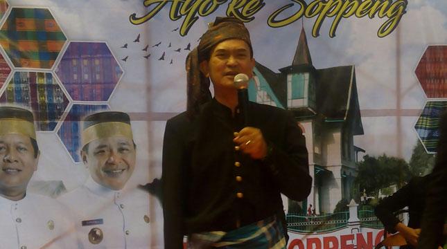 Kepala Dinas Kebudayaan dan Pariwisata Soppeng, Sulawesi Selatan, Andi Unru Mappajanci