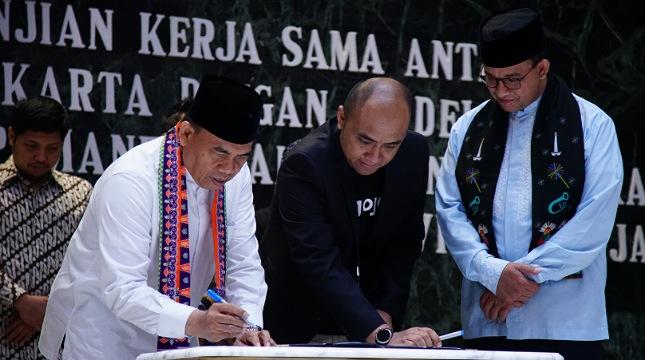 Gojek Dan Pemprov Dki Jakarta Tandatangani Nota Kesepahaman