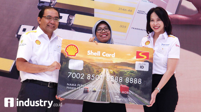 Peluncuran Shell Fleet Card di Indonesia