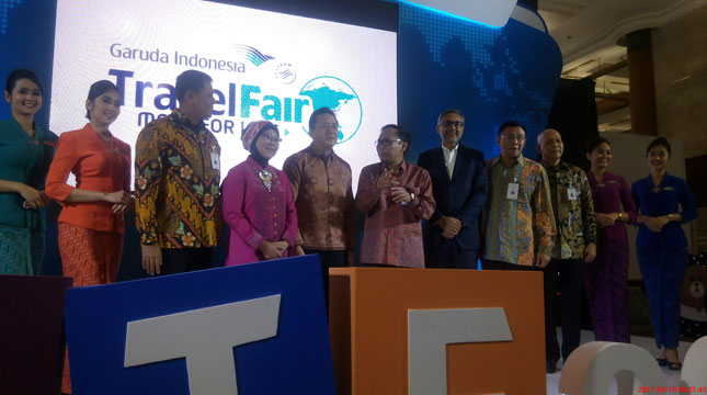Garuda Travel Fair 2017 (Chodijah Febriyani/Industry.co.id)