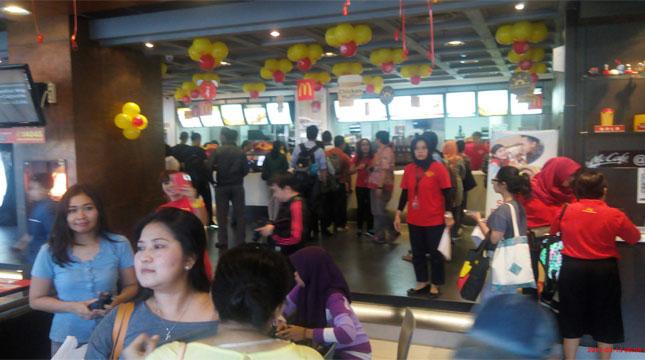 McDonlad's Mengadakan National Breakfast Day (Chodijah Febriyani/Industry.co.id)