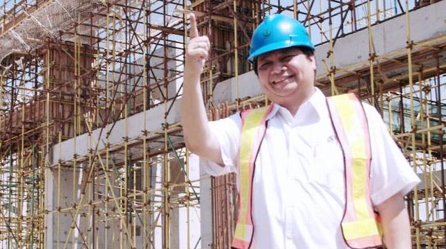 Menteri Perindustrian Airlangga Hartarto (Kemenperin dok)