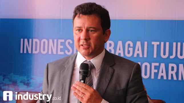 Ketua Umum IPMG Jorge Wagner (Hariyanto/ INDUSTRY.co.id)