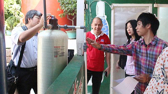 Peringati Hari Air Sedunia, SGU Sediakan Air Bersih di Desa Marga Mulya, Tangerang