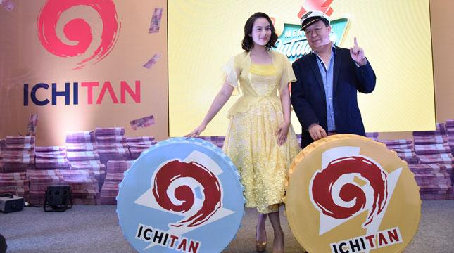 Chelsea Islan, Brand Ambassador Ichitan Bersama Tan Passakornnatee, Chairman & CEO of Ichitan Group