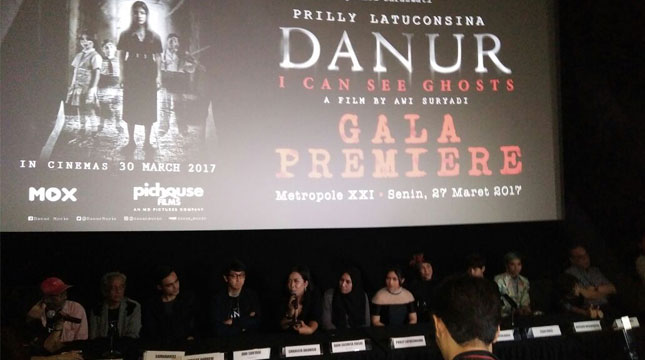 Gala Premiere Film Danur (Industry.co.id)