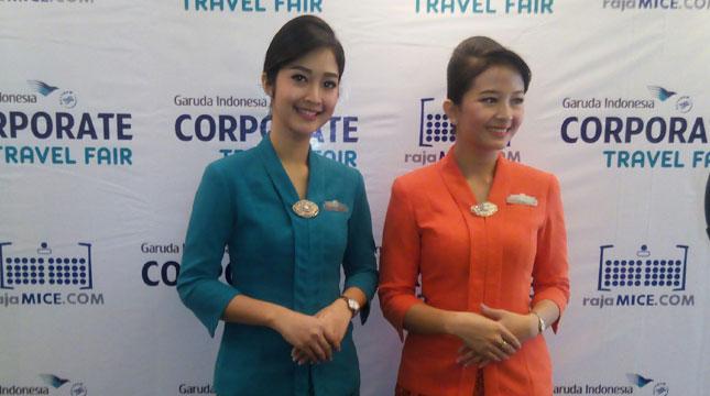 Pramugari Garuda Indonesia (Chodijah Febriyani/INDUSTRY.co.id)