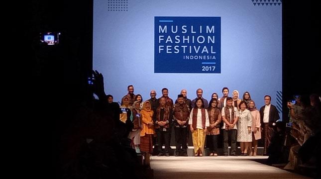 Muslim Fashion Festival (MUFFEST) 2017 (Chodijah Febriyani/INDUSTRY.co.id)