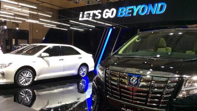 Toyota Tampilkan 20 Unit Produk Andalannya di IIMS 2017