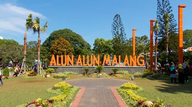 Alun Alun Kota Malang (Ist)