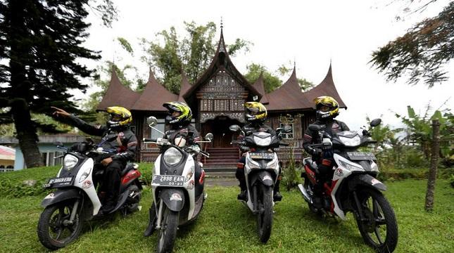 Tim Jelajah Tangguh akhirnya tiba di Kota Padang, Sumatera Barat pada hari Senin (10/04).