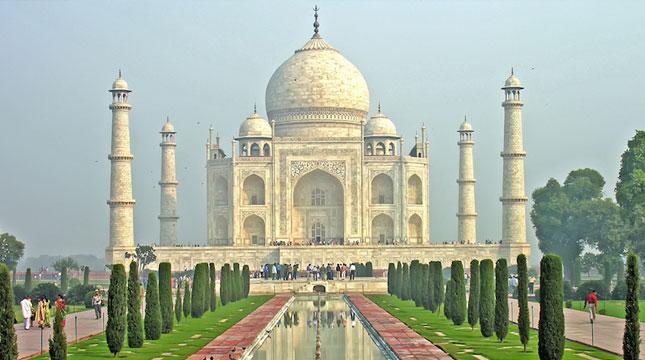 Taj Mahal, India (Dennis Jarvis/Flickr)