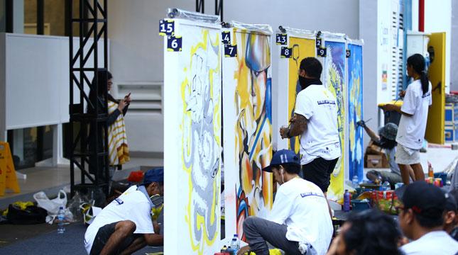 YELLO Hotel Manggarai Adakan Kompetisi Street Art